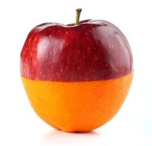 apple:orange